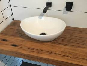 Wooden Sink Top